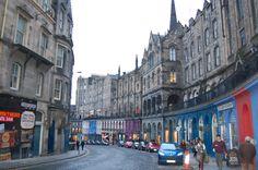 Royal Mile in Edinburgh, Scotland