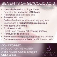 Benefits of Glycolic Acid