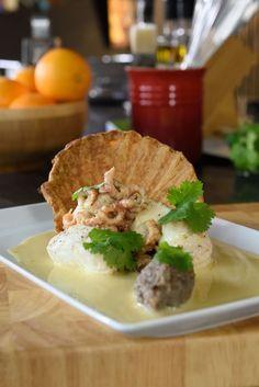 """Het lekkerste recept voor """"Bladerdeegschelpje met Noordzeevis """" vind je bij njam! Ontdek nu meer dan duizenden smakelijke njam!-recepten voor alledaags kookplezier!"""