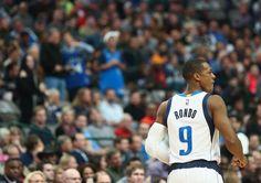 Introducing the newest member of the Dallas Mavericks, Rajon Rondo.