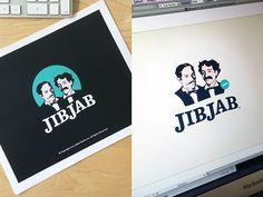 JibJab Branding by Bill Kenney, via Behance