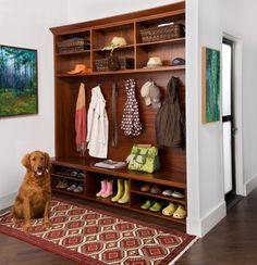 Mud Room - traditional - hall - new york - by transFORM | The Art of Custom Storage