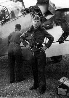 Capitan Welner Molders, 100 victorias en combate , estuvo en España.