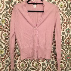J Crew Cardigan NWOT J Crew cardigan in lavender!! Adorable ruffle accent along neckline and buttons. Never worn, BRAND NEW CONDITION!! J. Crew Sweaters Cardigans