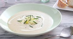 Winter Potato and Leek Soup | Adding butter beans is a great way to give this classic soup a boost of fibre and protein.