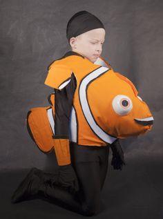 DIY Nemo Costume Final Look