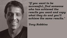 Tony Robbins stops by, raids my liquor cabinet, does all my drugs, and leaves. All before 7:00 AM.