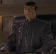Satok was the Vulcan Minister of Security and head of the V'Shar in 2370.