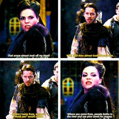 regina and robin hood & one of my favorite OUAT lines!
