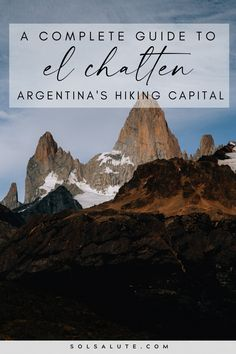 A complete guide to hiking in El Chalten Argentina   Trekking in El Chalten   El Chalten hiking   El Chalten trekking guide   Best day hikes in El Chalten Patagonia   Hiking in Argentina   Hiking in Patagonia   Best hikes in Patagonia   Best treks in El Chalten   Trekking en El Chalten   Where to stay in El Chalten camping   Things to do in El Chalten   El Chalten hikes to do   El Chalten day hikes   El Chalten camping guide   Argentina hike guide   Where to hike in South America hikes Visit Argentina, Argentina Travel, Backpacking South America, South America Travel, South America Destinations, In Patagonia, Best Hikes, Mexico Travel, Latin America