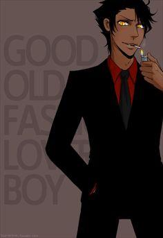 Good Old Fashioned Lover Boy by ~xxsymmetryxx on deviantART