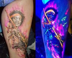13 Blacklight Tattoos That Put Normal Ones To Shame