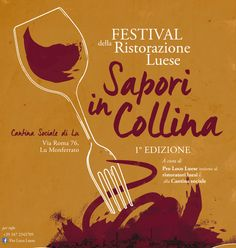 Event - Food and Wine Festival - Posters Design on Student Show #orange