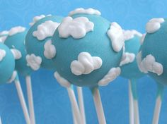 Cloud Cake Pops