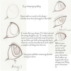 Lion/Cat Eye tutorial by *WingsandFeathers on deviantART