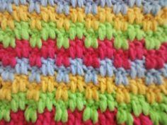 ▶ Двухсторонний узор Sided pattern Crochet - YouTube