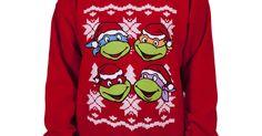 Teenage Mutant Ninja Turtles sweater, TMNT shirt, TMNT Christmas sweater