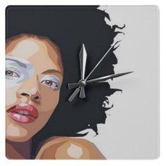 Afrocentric Clock - ethnic decor
