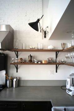 For Jane: Black and Wood Kitchen Accents | Remodelista Designe Awards Professional Kitchen