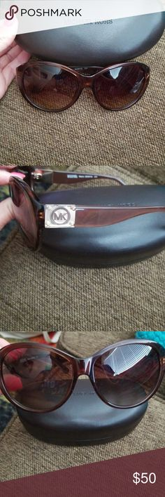 New Michael Kors Sunglasses Oversized but not by too much. Cute look, very chic style. Brand new. No tags. Bought and packed them when I moved and forgot I had them. Have over 75 pair so I would like someone else to enjoy! Michael Kors Accessories Sunglasses