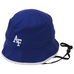 153fb87348f Air Force Falcons Top Of The World Backswing Bucket Hat - Royal Blue