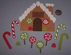 Gingerbread House Scrapbooking