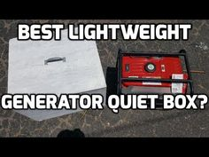 Creating a soundproof box around a portable generator can make a huge difference regarding quieting the noise and without interfering with its function. Camper Generator, Generator Shed, Honda Generator, Portable Generator, Soundproof Box, Cheap Insulation, Camping Near Me, Camper Van Conversion Diy