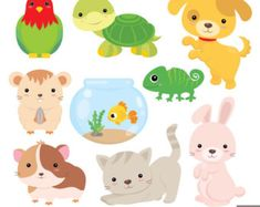 Teddy Bears Digital Clipart and Papers by LittleMoss on Etsy