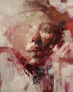 artchipel: Ryan Hewett - Oil on canvas, cm [found at anitaleocadia] Abstract Portrait, Portrait Art, Figure Painting, Painting & Drawing, Figurative Kunst, Art And Illustration, Face Art, Painting Techniques, Oeuvre D'art