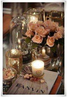 romantic look!