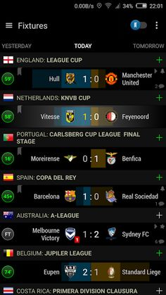 PRO Football Scores S-Center v3.5.0   PRO Football Scores S-Center v3.5.0Requirements:2.3 and upOverview:IMPORTANT NOTE: The names and logos of teams in this application are used solely for the identification of the respective teams and leagues. Neither the English Premier League (EPL) nor any EPL club has endorsed or is associated with this application.  Current translated languages: English Spanish Catalan French Portuguese Italian Russian and Polish.  Soccer Center is a light and powerful…