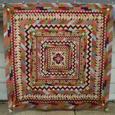 Medallion Quilt Along top finished by ann_champion, via Flickr