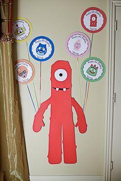 Yo Gabba Gabba decorations