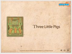 The 3 little pigs - #StoriesforKids. For more interesting  #stories, visit: http://mocomi.com/fun/stories/
