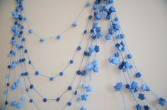 If you are interested in purchasing star garlands please check out my Etsy store ! There are many colors available and they are ready to shi...