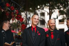 St. Pete Museum of Fine Arts Black & Red Halloween Themed Wedding - St. Petersburg, FL Wedding Photographer Carrie Wildes Photography (22)