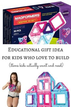 Magformers are the perfect gift for kids who love to build and create.