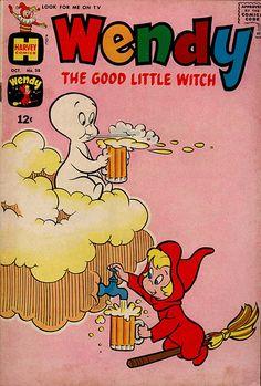 Supernatural children CAN drink beer!!