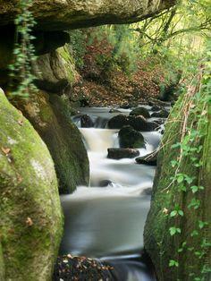 #Finistere, #Bretagne et...: l'automne est arrivé sur la Rivière d'Argent à #Huelgoat (7 photos) #myfinistere © Paul Kerrien http://toilapol.net
