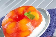 Receita de semifrio de pêssego Cantaloupe, Sweet Tooth, Peach, Yummy Food, Candy, Fruit, Desserts, Portugal, Healthy Dessert Recipes