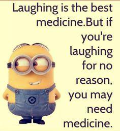 I think I need medicine lol