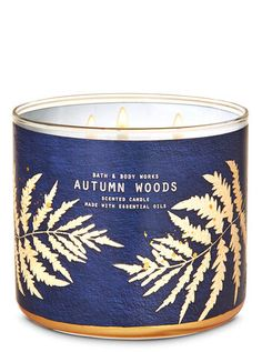 Autumn Woods 3-Wick Candle | Bath & Body Works