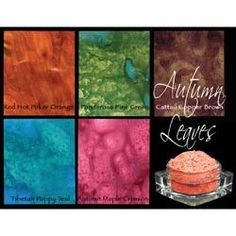 Lindy's Stamp Gang Magical Set - Autumn Leaves