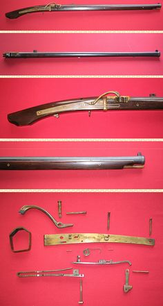 Japanese matchlock, total length:1162mm, barel length:812mm, weight:3780g.