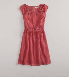 AE Paneled Lace Dress