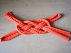 jersey knot headband | what i do