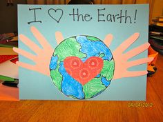 This would be a cute bulletin board for Earth Day