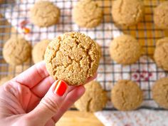 Coconut Flour Ginger Cake Cookies (paleo, GF) Recipe on Yummly. @yummly #recipe