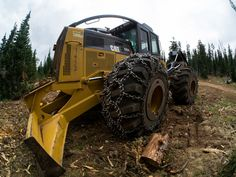 Prepared for whatever lies ahead: #Catmachines #Forestry