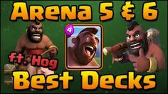 Clash Royale  Best Arena 5 & Arena 6 Decks and Attack Strategy with  http://ift.tt/1STR6PC